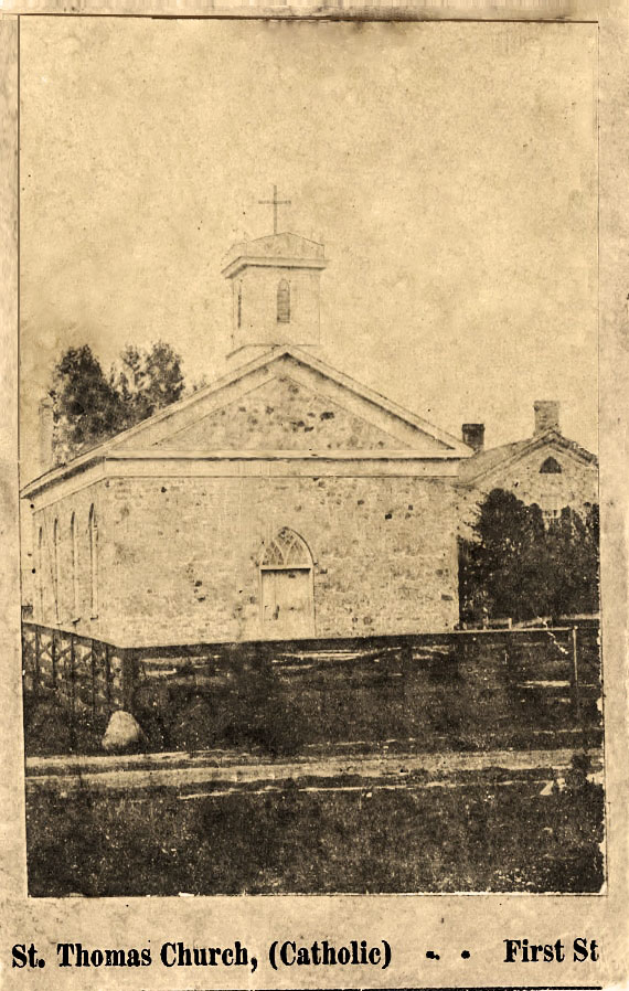 St. Thomas 1851 Church and Rectory