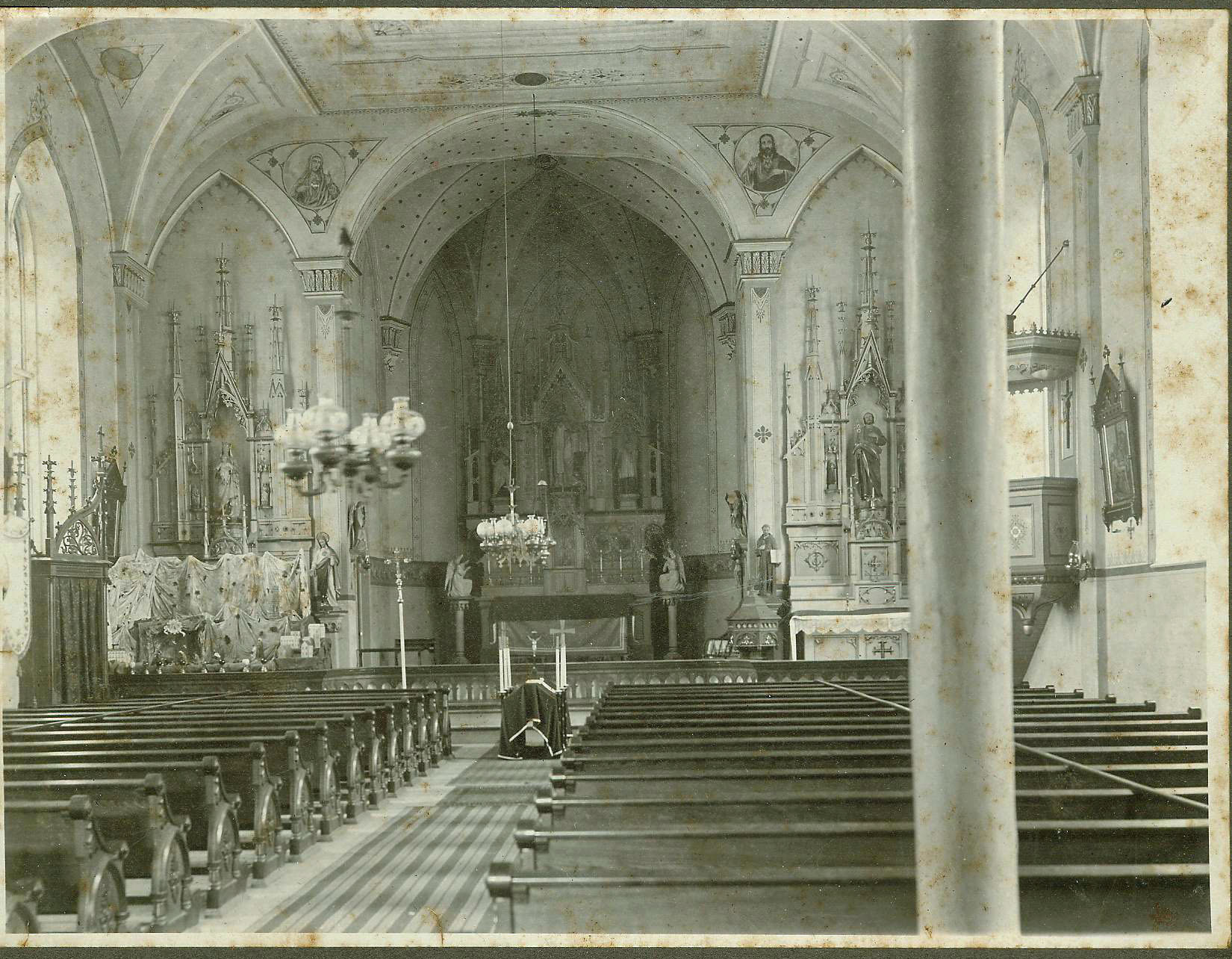 History of St  Thomas - St  Thomas Aquinas Parish School
